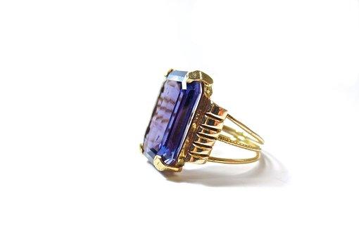 Color, Change, Sapphire, Jewelry, Retro, Modern