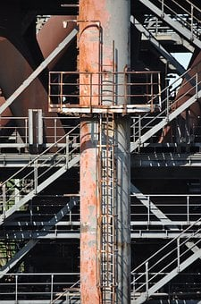 Industrial Plant, Old, Industry, Leave, Old Factory