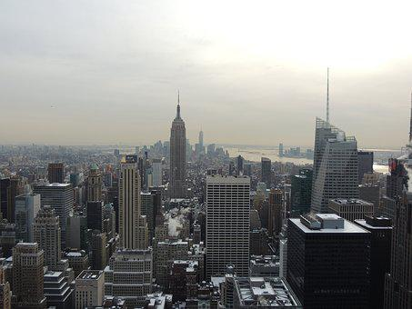 New York, Usa, New York City, New, America, City