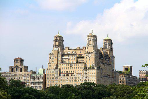 Nyc, Central Park, Old Building, Central Park New York