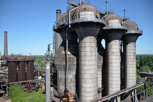 Industrial Plant, Old, Ruhr Area, Duisburg