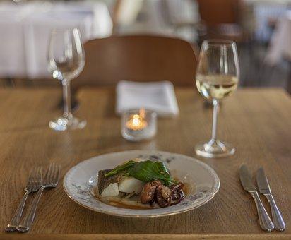 Restaurant, Fine, Dining, Dinner, Food, Plate