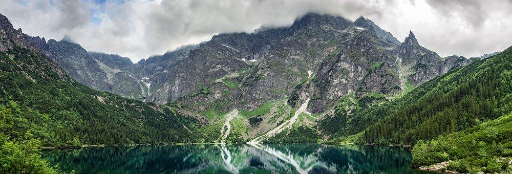 Lake, Mountains, Morskie Oko, Mountain Lake, Tatra