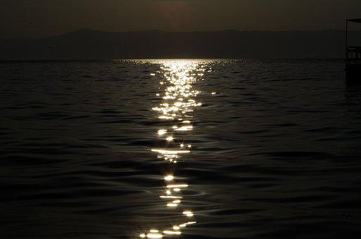 Sunrise, Sparkling, The Water