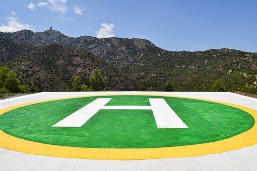 H, Heliport, Helipad, Transportation, Sign, Emergency