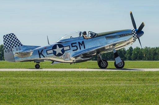 Warbird, Propeller, Airplane, Aircraft, Air, Plane