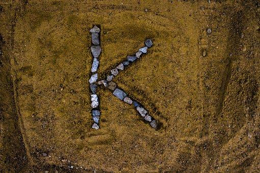 English Alphabet, Alphabet, K, Alphabet K