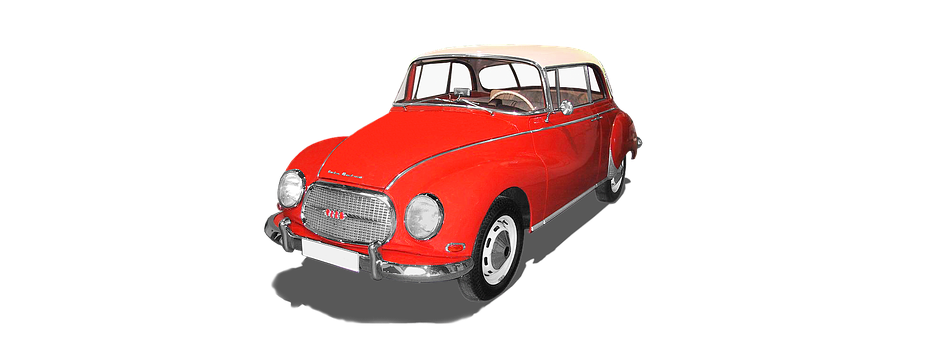 Isolated, Auto Union, Dkw, 1000s Coupe, Oldtimer