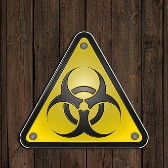 Warning Signs, Biohazard, Bacteria, Viruses