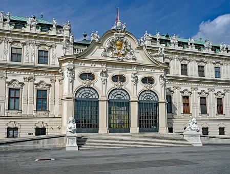 Belvedere Palace, Vienna, Austria, Palace