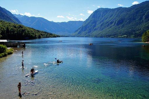 Bohinj, Bohinj Lake, Slovenia, Julian Alps, Clear Water