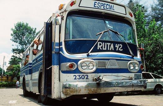 Bus, Summer, El Salvador