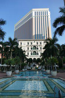 Macau, China, Macao, Hotel, Architecture, Asia, Tourism