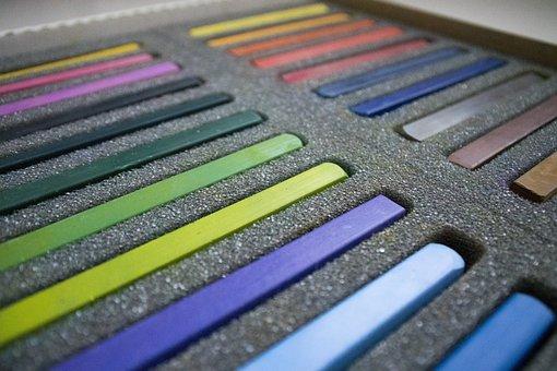 Crayons, Colors, Art, Draw