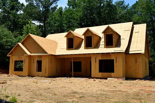 Home Construction, Wood, Home, Construction, House, New