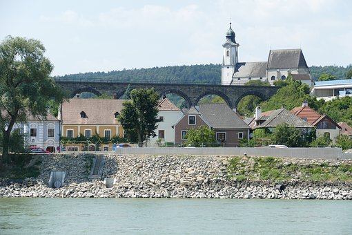 Wachau, Austria, Lower Austria, Danube Valley, Panorama