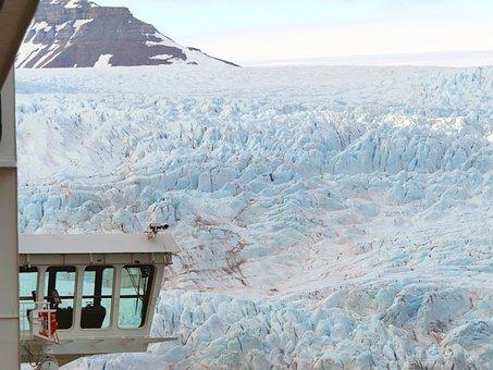 Glacier, Cruise, Ice, Iceberg, North, Norway, Sea, Ship