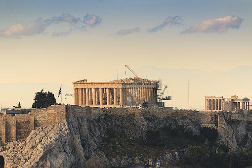 Greece, Athens, Acropolis, Greek, Ancient, Europe