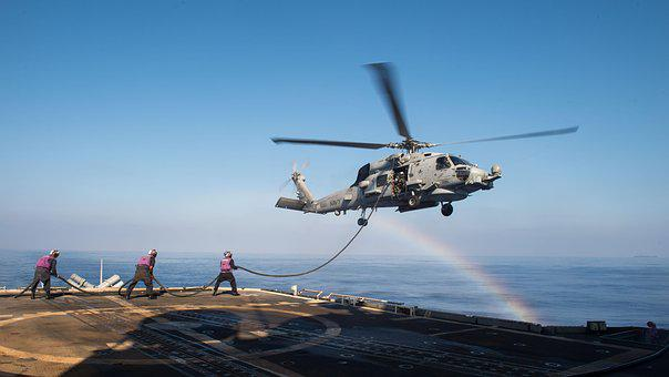 Seahawk, Helicopter, Refueling, Aviation, Usn