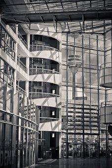 Architecture, Interior Design, Inside, Modern, Building