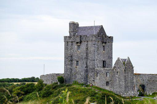 Castle, Grey, Stone, Kinvara, Ireland