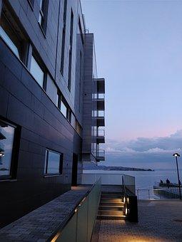 Oslo, Tjuvholmen, Architecture, Art, Modern, House