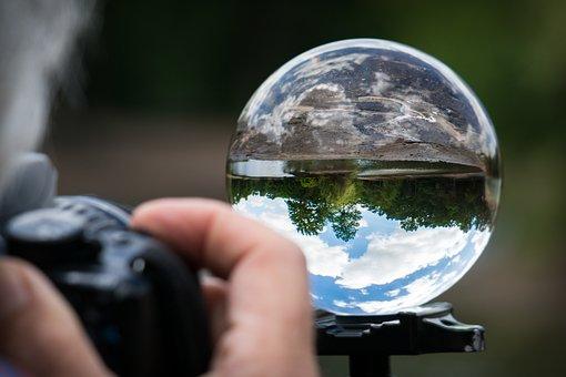 Photographer, Glass Ball, Photograph, Photography