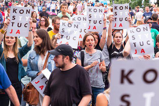 Poland, Politics, Protest, Women, Constitution, Girl