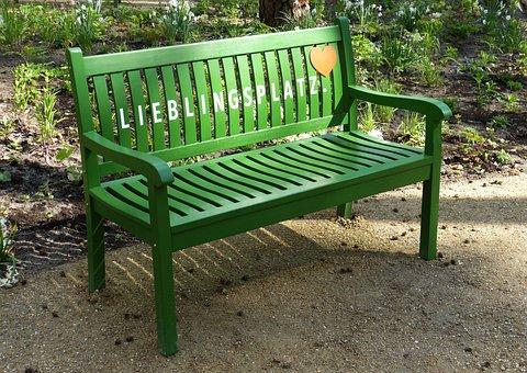 Garden, Park, Bench, Bank, Relax, Seat, Rest