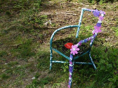 Garden, Park, Sit, Art, Bank, Relax, Seat, Rest, Chair