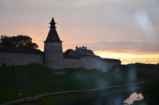 Pskov, The Kremlin, Fortress, Architecture, Russia