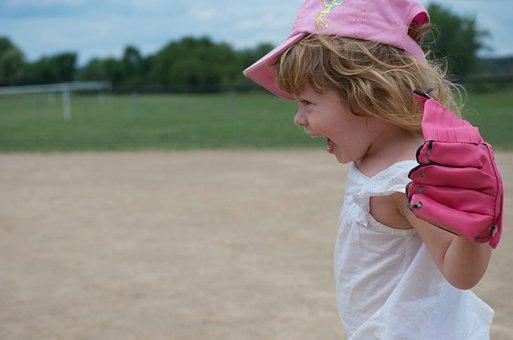 Child, Baseball, Young, Sport, Fun, Childhood, Playing