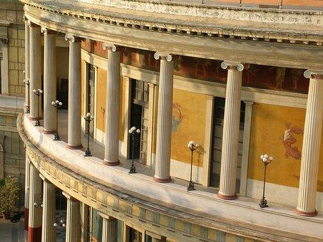 Palermo, Politeama, Teatro Politeama, Teatro, Sicily