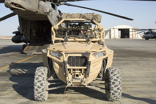 Utility Terrain Vehicle Utv, Army, Special Forces