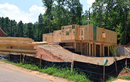 New Home, Construction, Wood, House, Home, Estate, New