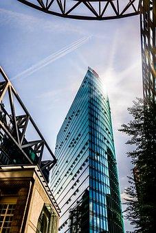 Berlin, Potsdam Place, Architecture, City, Skyscraper