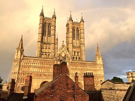 Lincoln, Cathedral, Sky, Architecture, Landmark