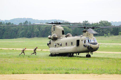 Ch-47 Chinook, Army Aviation, Helicopter, Large