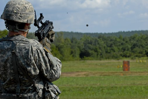 Grenade Launcher, Army, United States Army, Soldier