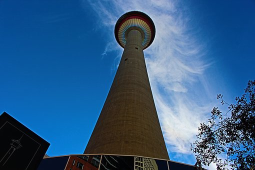 Calgary Tower, Calgary Downtown, Calgary, Tower