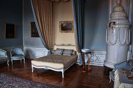 Valtice, Czech Republic, Interior, Lock, Bed, History
