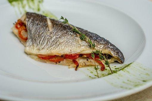 Sea Bass, Fish, Dish