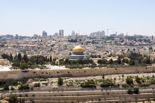 Jerusalem, Israel, Holy City, City, Dome Of The Rock