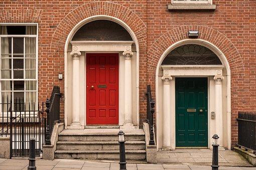 Door, Input, Ireland, Dublin, House Entrance, Come In