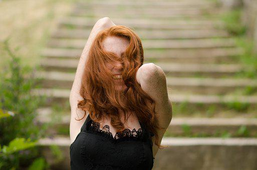 Dress, Ginger, Female, Hair, Woman, Red, Fashion