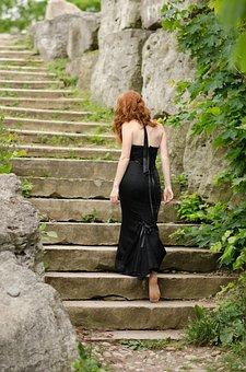 Dress, Ginger, Female, Hair, Woman, Red, Fashion