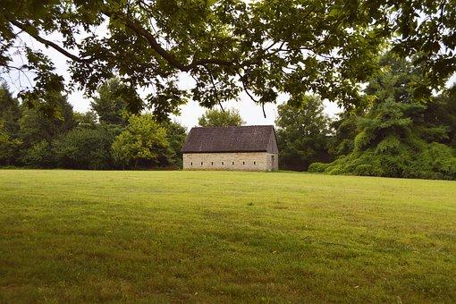 Barn, Farm, Structure, Farmington, Plantation