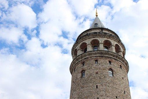Galata, Taksim, Tower, Istanbul
