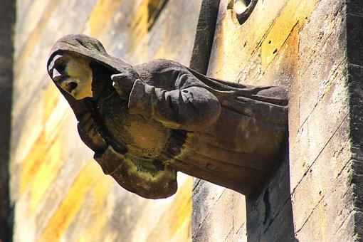 Gargoyle, Architecture, Cathedral, Landmark, Statue
