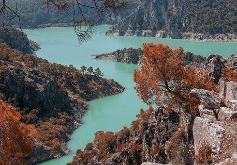 Hidden Paradise, Arch Dam, Blue